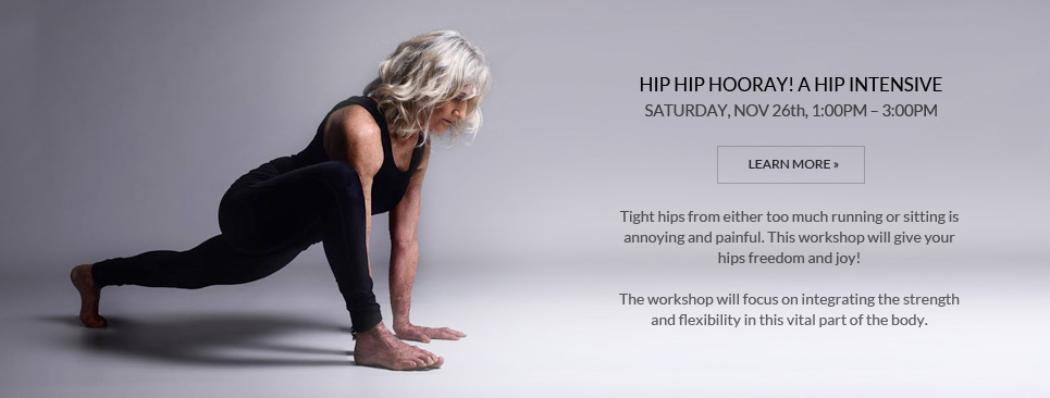 Hip Hip Hooray! A Hip Intensive