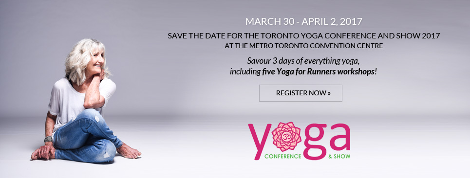 Christine Felstead at the Toronto Yoga Conference | yogaforrunners.com