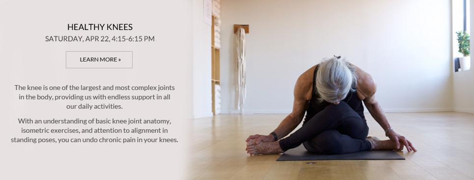 Healthy Knees workshop