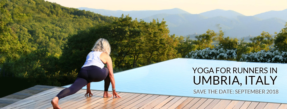 YOGA FOR RUNNERS IN UMBRIA, ITALY RETREAT