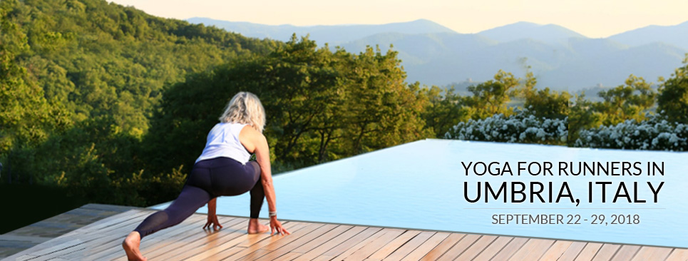 Yoga for Runners in Umbria, Italy 2018