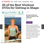 Women's Magazine 25 Best Workout DVDs for Getting in Shape: Yoga for Runners, The Essentials