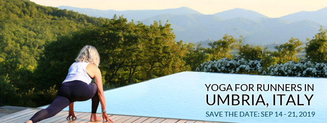 Yoga for Runners in Umbria, Italy 2019