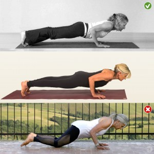 Chaturanga - a lesson in strength