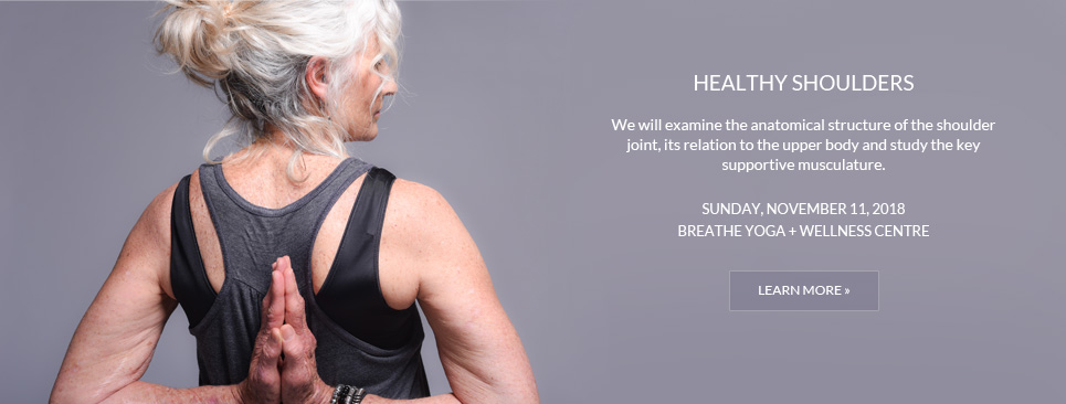 Healthy Shoulders Workshop