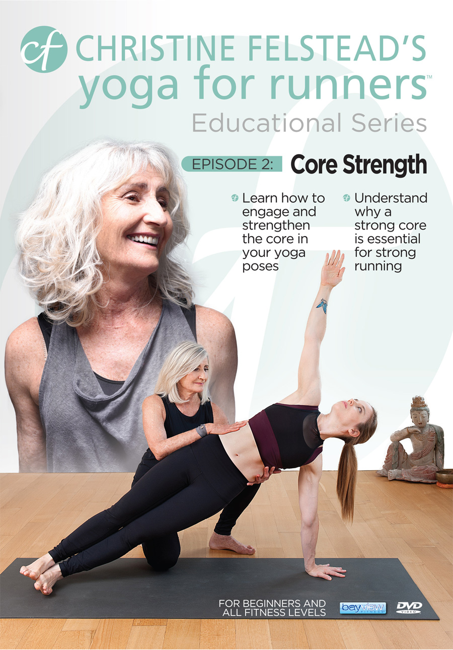 Yoga for Runners Educational Series - Episode 2: Core Strength front cover DVD