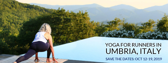 Yoga for Runners Retreat in Italy - October 12-19, 2019