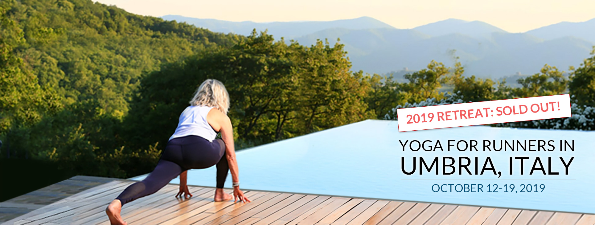 Yoga for Runners in Italy - Oct 12-19, 2019 SOLD OUT