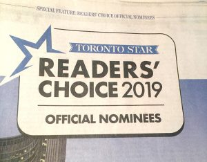 Toronto Star Reader's Choice