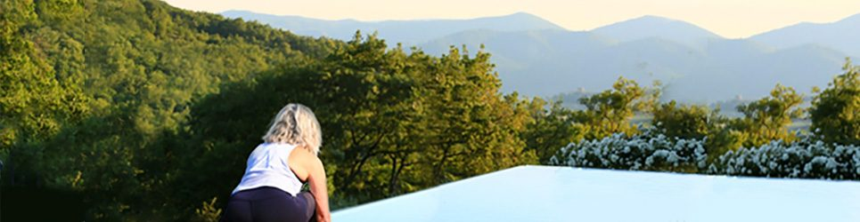 yoga for runners in umbria italy
