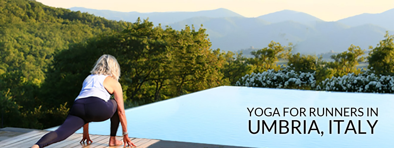 Yoga for Runners in Umbria, Italy