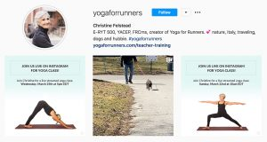 Follow Yoga for Runners on Instagram