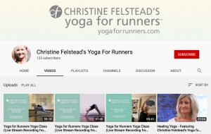Follow Yoga for Runners on Youtube
