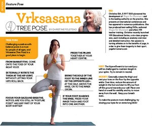 Sweat Equity Magazine - Tree Pose