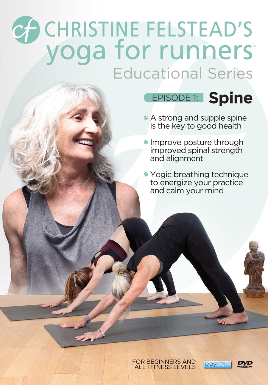 Yoga for Runners Educational Series - Episode 1: Spine front cover DVD